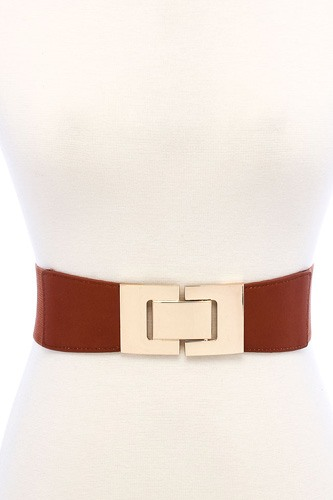 Fashion stretchable square buckle belt-id.cc39141