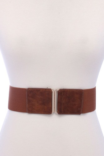 Pu leather elastic belt -id.cc39145