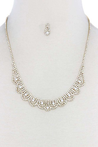 Rhinestone necklace-id.cc39147