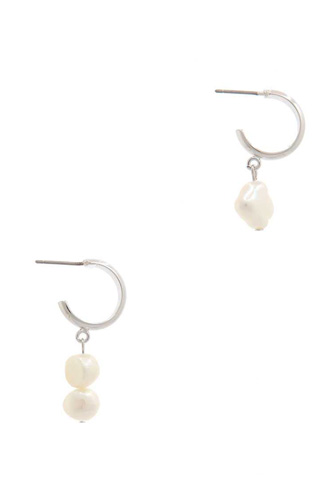 Pearl dangle drop earring-id.cc39183