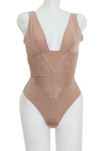 Lace and mesh bodysuit shapewear-id.cc39228a