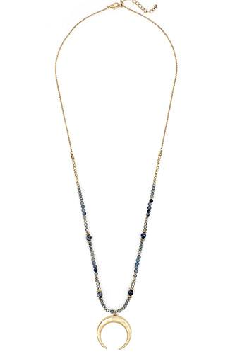 Stylish fashion beaded pendant necklace -id.cc39299