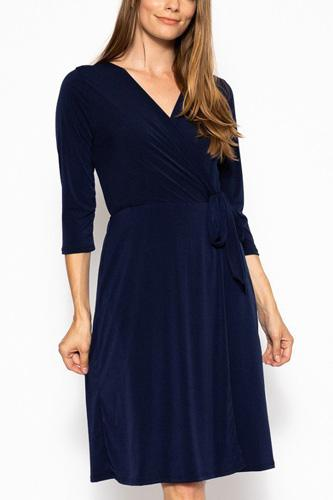 Midi 3/4 sleeve dress-id.cc39386d