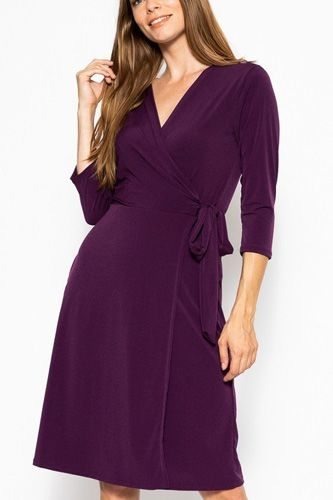 Midi 3/4 sleeve dress-id.cc39386e