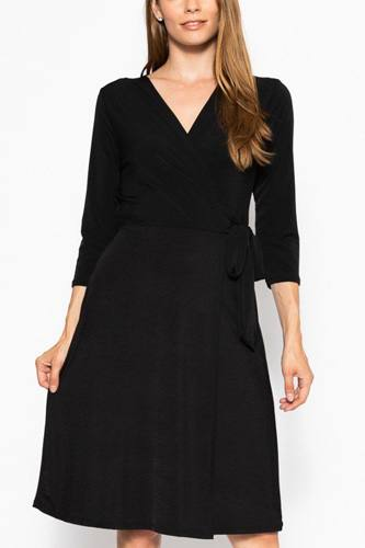 Midi 3/4 sleeve dress-id.cc39386f