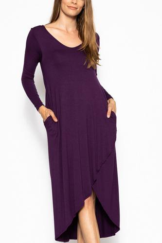 Long sleeve maxi dress-id.cc39387a