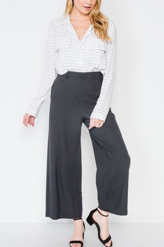 High-waist wide leg pants-id.cc39411