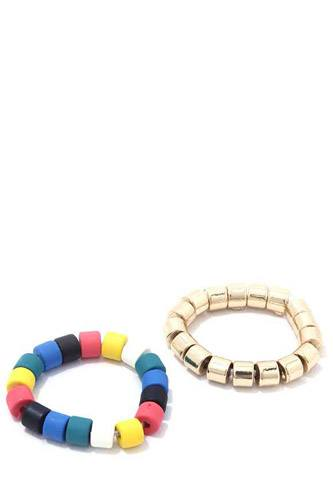 Multi color stretch ring set-id.cc39481