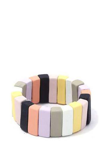 Rectangular shape block stretch ring-id.cc39484