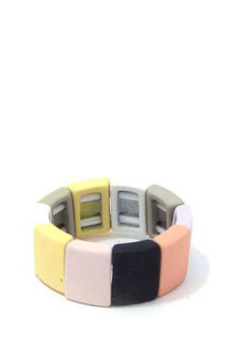 Square shape block stretch ring-id.cc39485