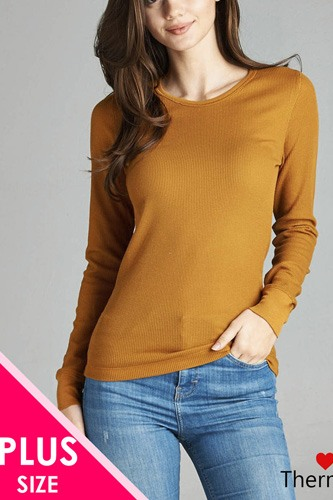 Long sleeve crew neck thermal top-id.cc39528d