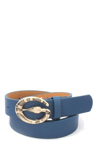 Snake buckle pu leather belt-id.cc39534