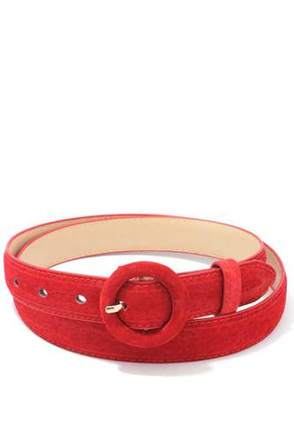 Soft rounded buckle belt-id.cc39537