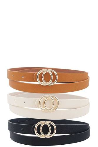 3 pcs. fashion infinity buckle belt set-id.cc39539