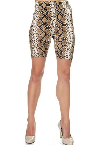 Animal print biker shorts-id.cc39596a