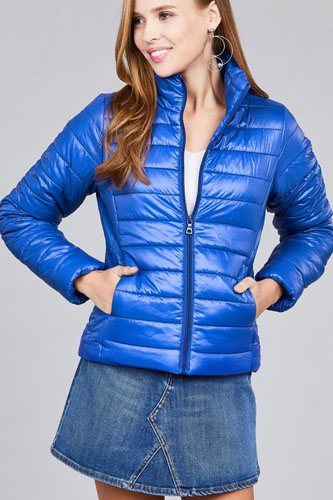 Long sleeve quilted padding jacket-id.cc39629g