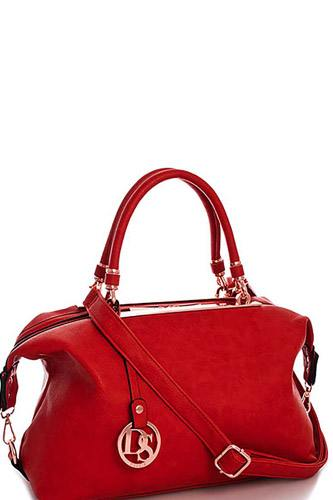 Designer fashion loose fit satchel with long strap-id.cc39663