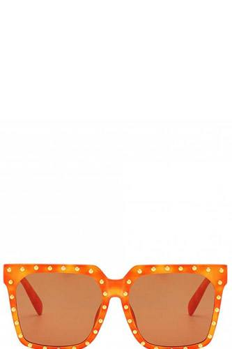 Designer studded poly carbonate sunglasses-id.cc39702