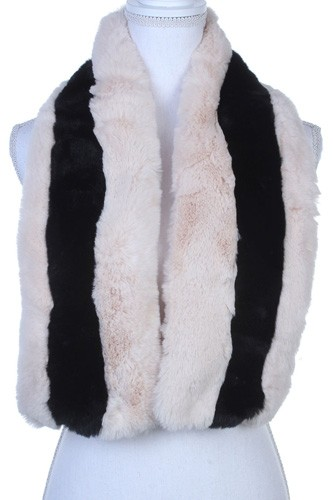 Two tone soft oblong scarf-id.cc39762