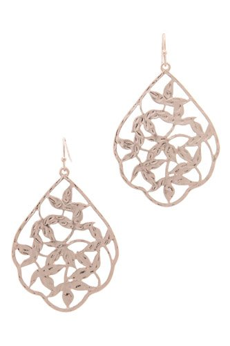 Metal drop earring-id.cc39790