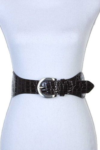 Pu leather stretch belt-id.cc39805