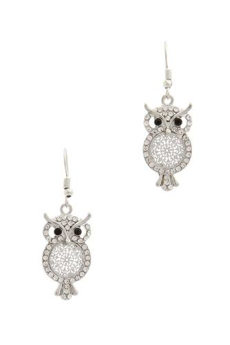 Owl drop earring-id.cc39853