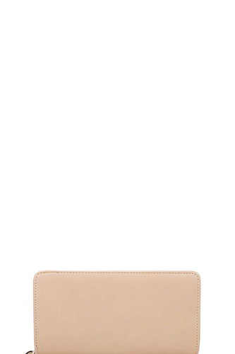 Fashion solid color long wallet-id.cc39901
