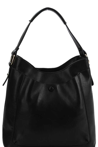 Chic stylish hobo bag with long strap-id.cc39910