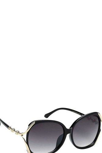 Contemporary butterfly frame with metal accented temple womens sunglasses-id.cc39965