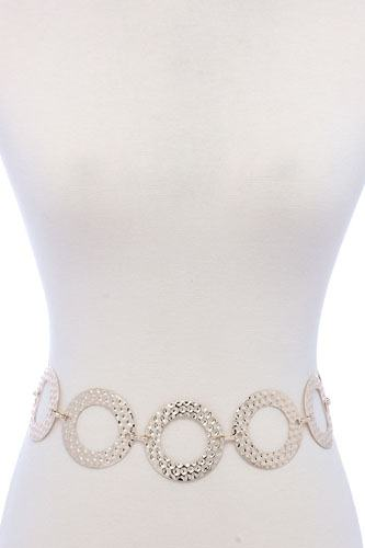 Circle linked metal belt-id.cc40060