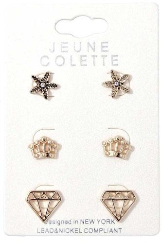 Fashion chic multi earring-id.cc40083