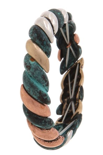 Patina stretch bracelet-id.cc40088