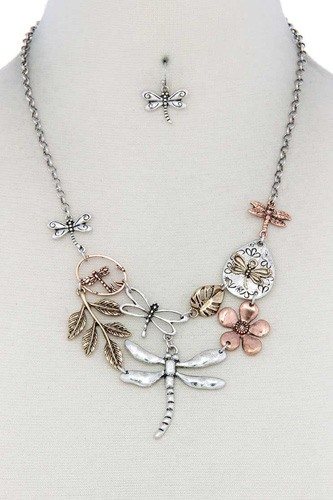 Dragonfly bib necklace-id.cc40171