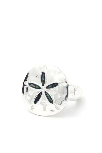 Sand dollar stretch ring-id.cc40233