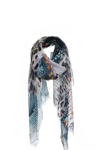 Chic soft animal pattern print scarf-id.cc40243