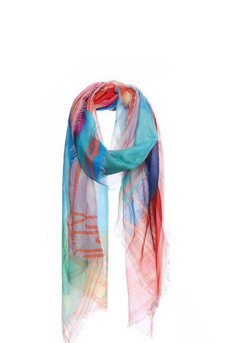 Soft stylish rainbow color scarf-id.cc40244