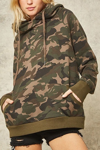 A camouflage hoodie-id.cc40340