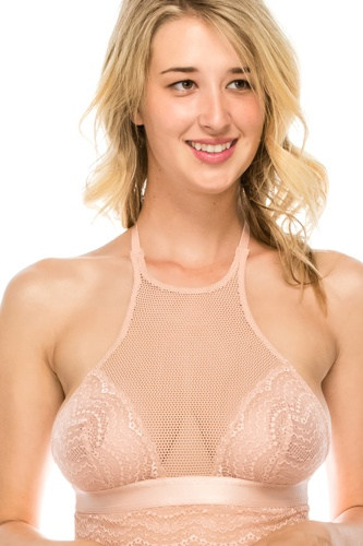 High neck lace bralette -id.cc40367a