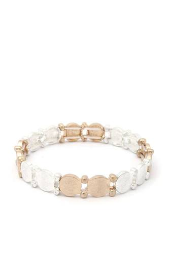 Metal stretch bracelet-id.cc40422