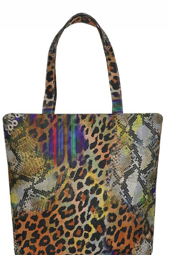 Animal print tote bag-id.cc40433