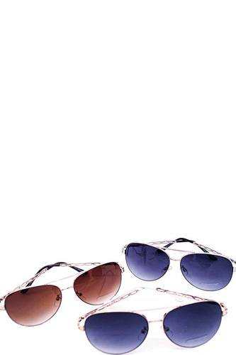Trendy fashion aviator sunglasses-id.cc40506