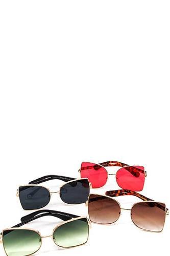 Modern fashion chic colored sunglasses -id.cc40511