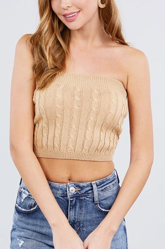 Twisted effect tube sweater top-id.cc40524