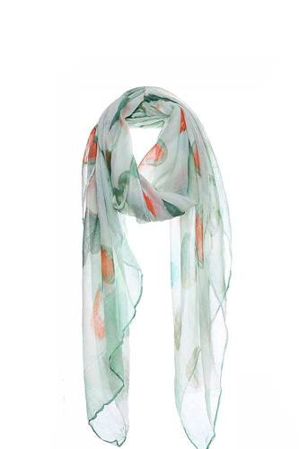 Fashion soft water color heart print scarf-id.cc50574