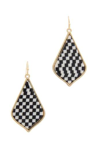 Pattern drop earring-id.cc50640
