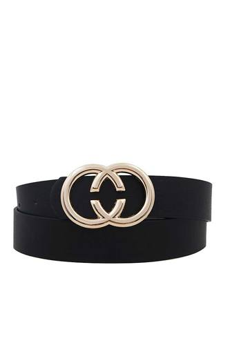 Fashion double ring buckle belt-id.cc50643