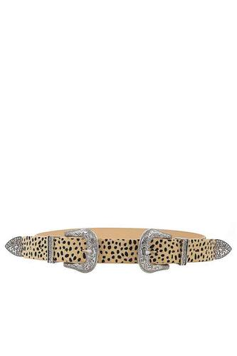 Fashion chic trendy double buckle leopar beltid.cc50648