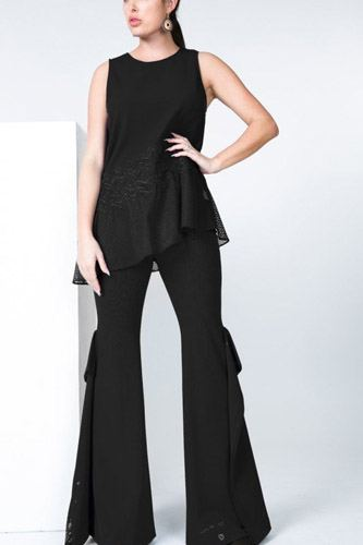 Asymmetrical hem sleeveless top-id.cc50678