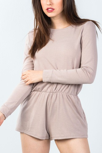 Comfy tie-back long sleeve romper-id.cc50824a