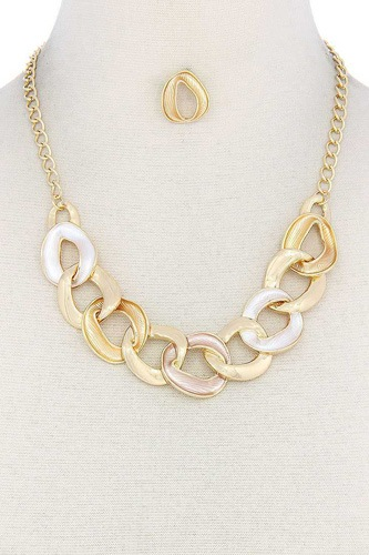 Circle link necklace-id.cc50862